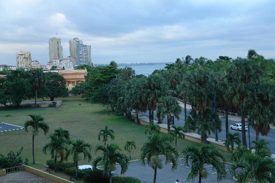 Hotel Santo Domingo: Вид с бакона