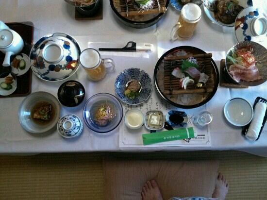Iseya Ryokan : 夕食