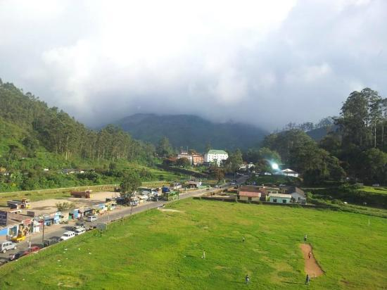 The Silver Tips: a view from Silvertips Munnar