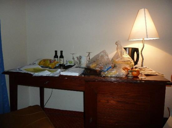 Hotel Lippert: desk 