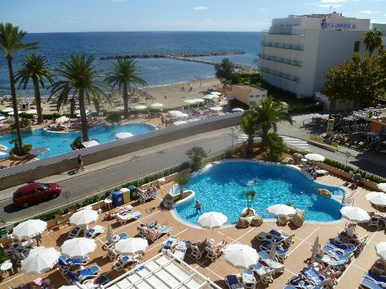 Levante Park Hotel: view from the balcony