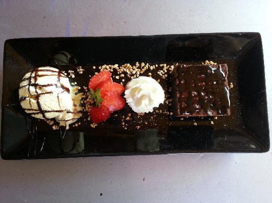 Havana Beach Chiringuito: brownie