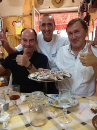 Trattoria Familiare da Michele & Jolanda : cannoli siciliani