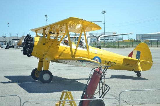 One of many planes on display - Picture of Canadian Warplane