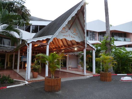 Hotel Fleur d'Epee: L'entré de l'hotel