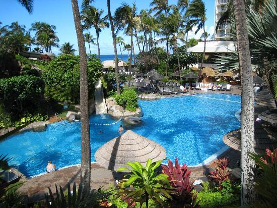 Westin Maui Resort And Spa: Pool area