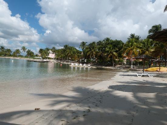 Hotel Fleur d'Epee: la plage