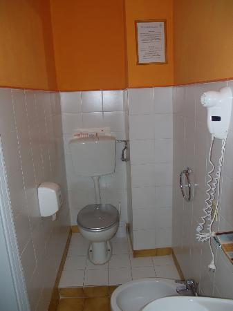 La Mimosa : The bathroom (also stylish)