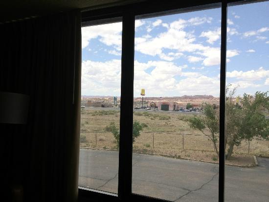 Kayenta Monument Valley Inn: vista dalla camera