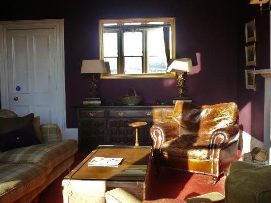 Knockendarroch House Hotel: the drawing room