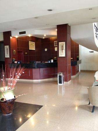 Galaxy Hotel: Lobby of the GHH.