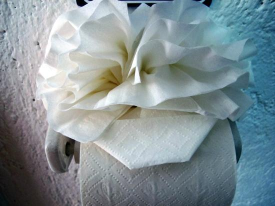 Playa Blanca Condominiums: Tissue art.