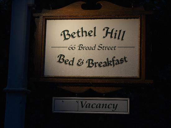 ‪‪Bethel Hill Bed and Breakfast‬: Bethel Hill‬