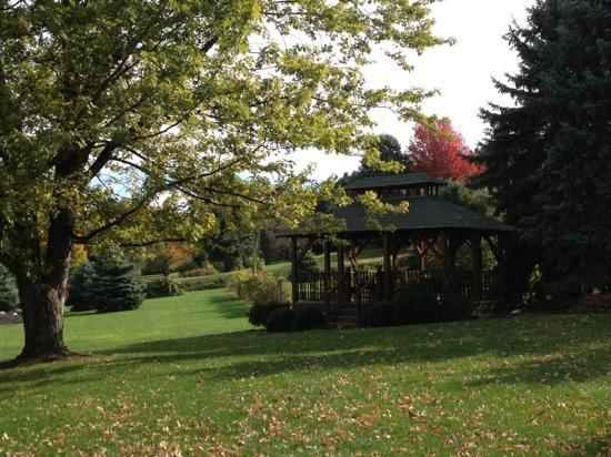 Vineyard Bed and Breakfast: The beautiful gazebo