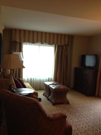 Embassy Suites by Hilton San Antonio Riverwalk-Downtown: separate living area
