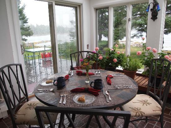 Ann's Point Inn: Frühstück im Wintergarten