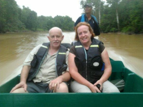 Sukau Rainforest Lodge: the way to travel