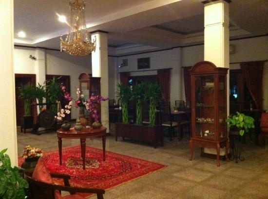 Vayakorn Inn: lobby area
