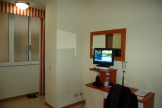 Hotel Flavia: Pas de lumiere du jour
