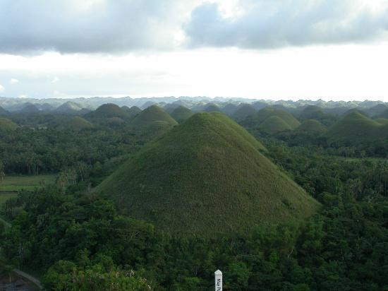 Bohol Island, Filipinas: Chocolates Hills