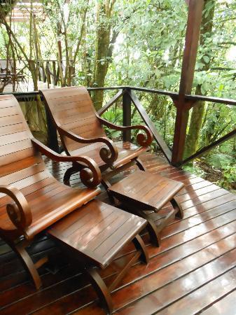 Rio Celeste Hideaway Hotel: Balcony