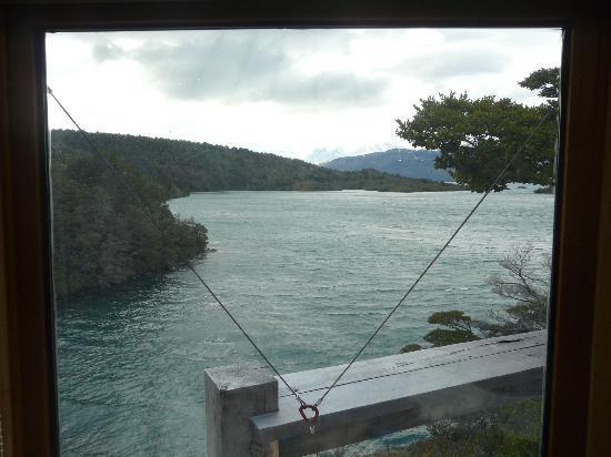 Patagonia Camp: Vista desde la ventana del Yurt