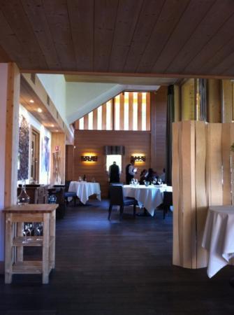 Un chalet moderne - Picture of Restaurant etoile Flocons de Sel ...