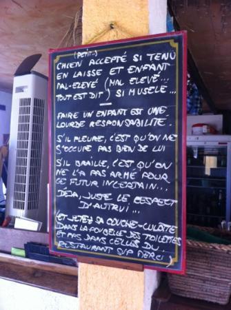 Villeneuve-Loubet, Francia: plage le hamac