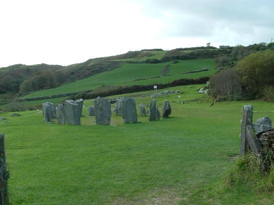 Drombeg Stone Circle: View of Site