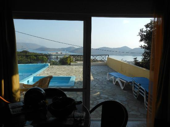 Elounda Water Park Residence: View from Villa 7 (Amazing!)