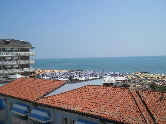Hotel Erika: Blick von der Dachterrasse