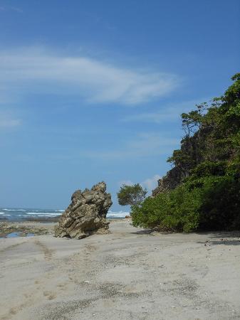 Latitude 10 Beachfront Resort: The beach