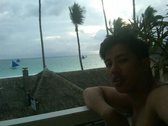Shore Time Hotel Boracay: View from the Upper Terrace
