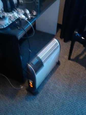 The Printworks Hotel: heater