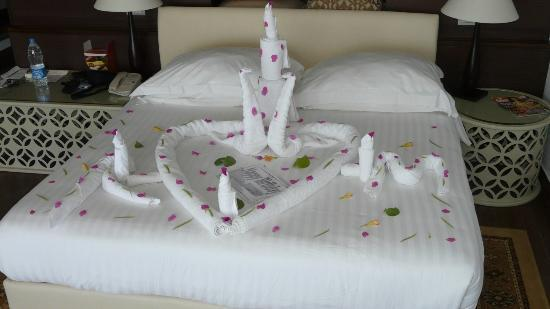 Steigenberger Makadi Hotel: towel art birthday