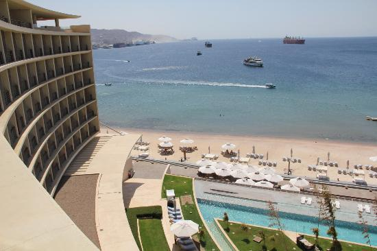 Kempinski Hotel Aqaba Red Sea: View from room