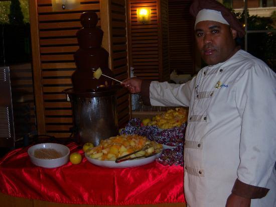 Ohtels Belvedere: Excelente cheff de cocina
