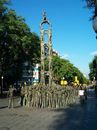 Ohtels Belvedere: Homenaje a la cultura de tarragona