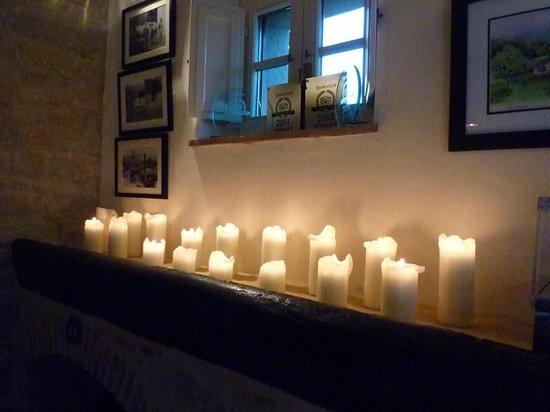 Casa Portagioia: Romantische Atmosphäre beim Dinner