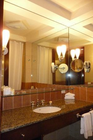 Hotel Giraffe: Bathroom