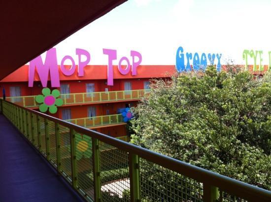 Disney's Pop Century Resort : View from room #4417