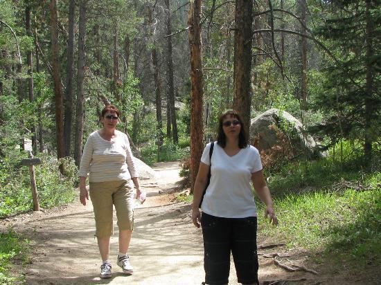 Wild Basin Area: the easy gravel trail