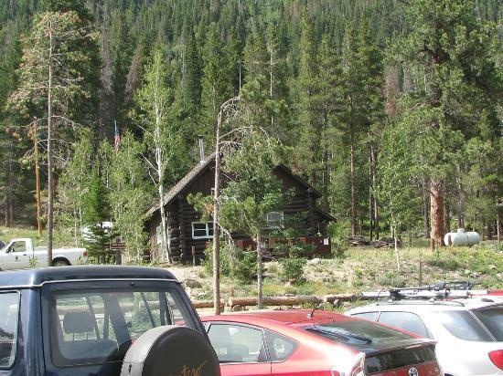 Wild Basin Area: Bathrooms at Wild Basin
