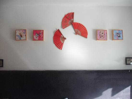 Sea Spray Boutique Hotel: Some of the Geisha themed decoration.