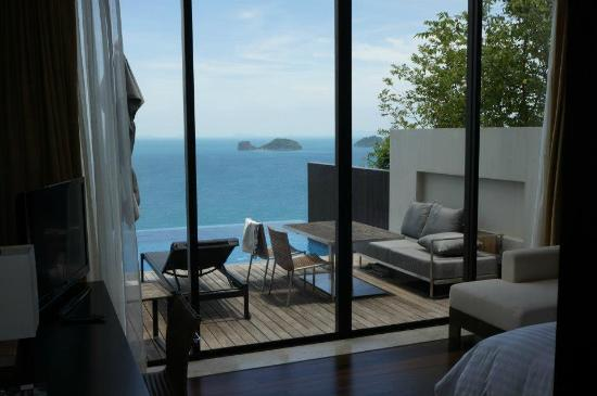 ‪‪Conrad Koh Samui Resort & Spa‬: View from bedroom.