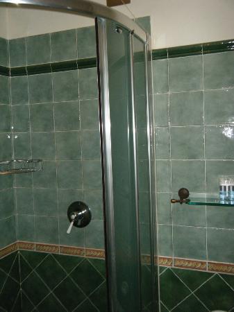 Domus Livia Suites: The shower