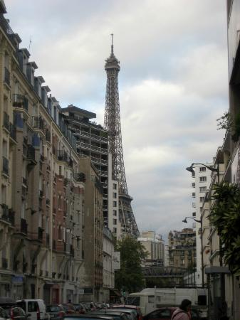 Eiffel Saint Charles: view from the corner