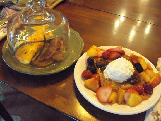 Westview Bed & Breakfast : Delicious Breakfast