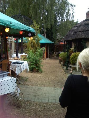 Lymm, UK: view of the dining areas