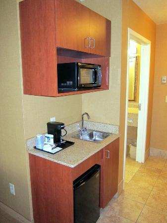 Holiday Inn Express Hotel & Suites Lake Placid : Microwave, refrigerator,